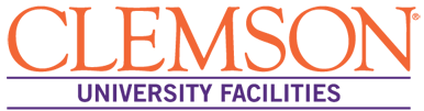 Clemson University Facilities logo.